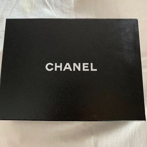 Authentic Chanel black gift box, about 8.5x6.5x2.5
